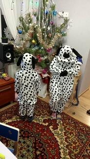 Пижама Кигуруми Долматинец детская