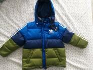 Зимовий пуховик Adidas