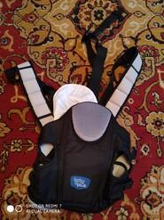 Темно синий рюкзак кенгуру