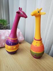 Музыкальная игрушка Набор маракасов Два жирафа Battat