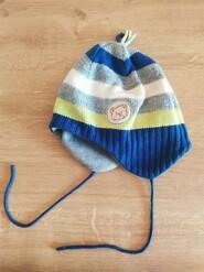 Теплая шапка на флисе, германия kid cap by bauer