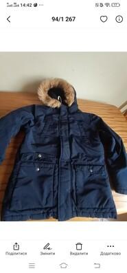 Куртка Gymboree темно-синя
