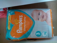 Pampers sleep and play 3