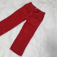 Штаны верюровые красные брюки