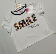 Белая футболка с надписью Chicco р. 116