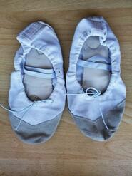 Балетки тканевые, балетные тапочки 20 см