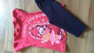 Літній костюм для дівчинки