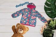 Dodipetto 3А/98 Итальянская Теплая двухсторонняя курточка для маленькой принцессы