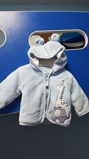 Курточка-кофточка для новорождённого