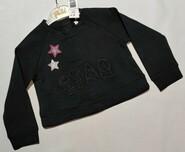Черный свитшот со звездами Idexe р. 92