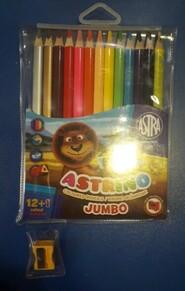 Цветные карандаши 12+1цв