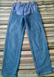Б/У Стретчевые джинсы для беременных. Размер L