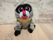 Мягкая игрушка глазастик лупоглазик 15 см обезьянка TY