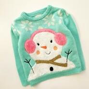 свитер со снеговиком