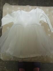 Белое платьячко