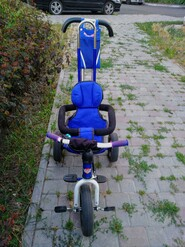 Велосипед детский трехколесний