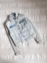 Джинсовая куртка Denim р.146 на 10-11лет
