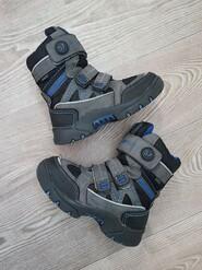 Тёплые термо ботинки на мальчика р. 32, по стельке 20,5 см