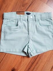Хлопковые шорты  на 7-10лет
