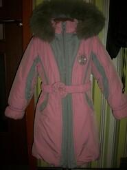 зимнее пальто на 8 лет Kiko