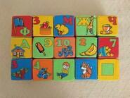 Набор кубиков, 15 шт.