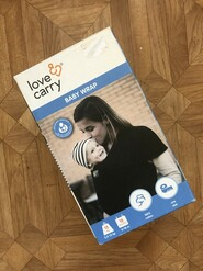 Слинг - шарф Love & Carry Серый
