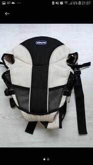 Кенгурушка рюкзак