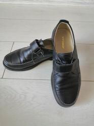 Туфли кожаные на мальчика 33р