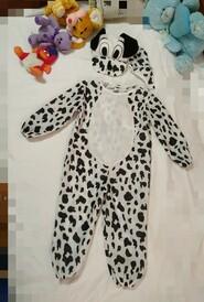 Карнавальный костюм Долматинец на 3 годика. Шапочка мордочка