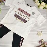 Комплект для дівчинки (футболка+лосіни)