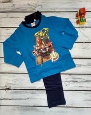 Комплект кофта реглан лонгслив + штаны пижама капитан америка мстители