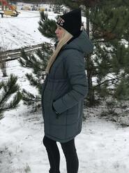 Зимняя куртка для беременных 2 в 1 размер М