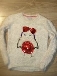 Теплый нарядный свитер на 8-9лет