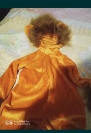 Новогодний костюм львёнка