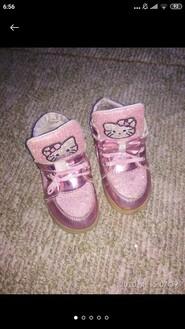Милые розовые ботиночки