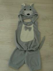 Новогодний карнавальный костюм мышки мышонка на 4-5 лет