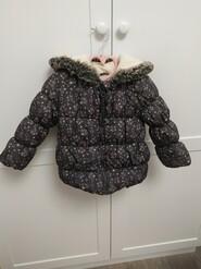Демісезонна курточка в квіточки