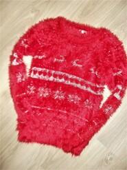 Теплый нарядный свитер на 12-13лет рост 158