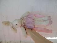 Рюкзачок и игрушка балерина зайчик