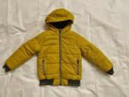 Жовта куртка для хлопчика