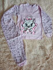 Піжамка рожева, з котиком