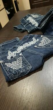 Очень модные зауженные джинсы emporio Armani kids