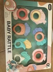 Набор грызунков прорезывателей для малышей новый