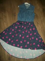платье с единорожками на 11 лет от Bluezoo