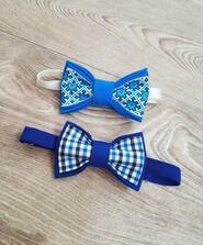 Качественная детская бабочка галстук на 3-7 лет, хлопок