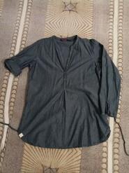 Универсальная коттоновая рубашка рубаха для беременных кормления кормящих мамочек