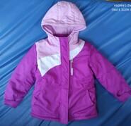 Куртка для девочки 5 лет, 116 см, 3 - в - 1 Healthex, США