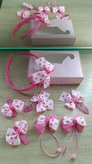 Набор резиночек и заколочек для маленькой принцессы