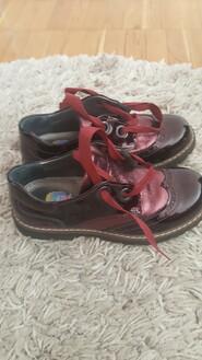 Кожаные ортопедические туфли на девочку в идеальном состоянии