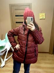 Очень крутая стильная курточка для беременных.